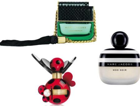 Marc Jacobs perfumes: Decadence, Mod Noir, and Dot