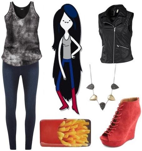 Marceline adventure time fashion