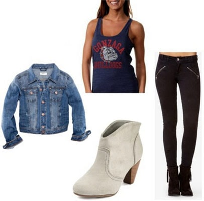 March madness outfit 1