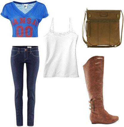March madness outfit 3