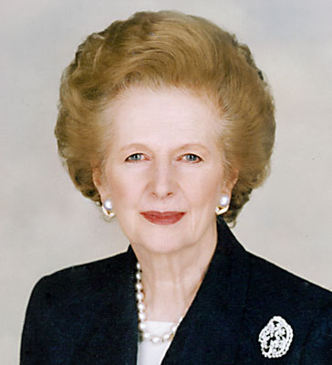 Margaret Thatcher portrait