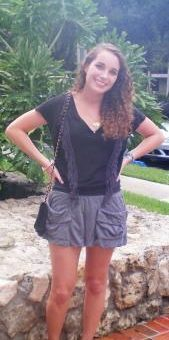 Margaux, a college fashionista from University of Miami