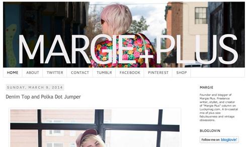 Margieplus homepage