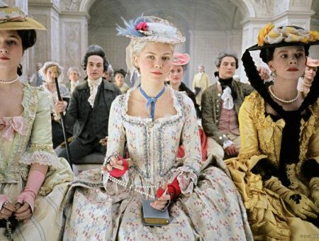 Kirsten Dunst as Marie Antoinette in the movie version