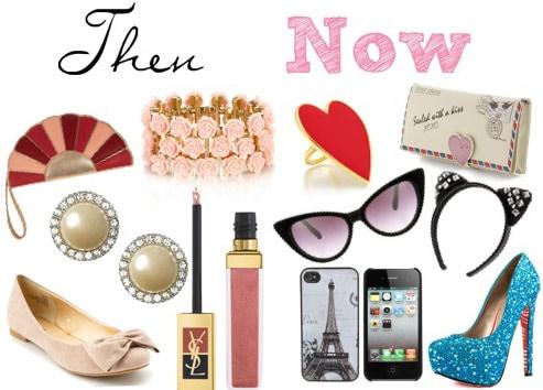 Marie Antoinette fashion accessories