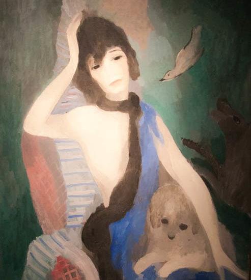Marie laurencin portrait