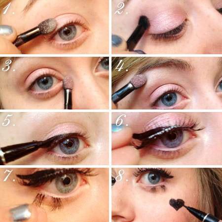 Marina and the diamonds makeup tutorial steps