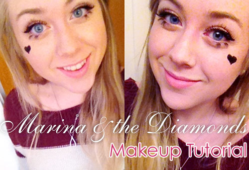Marina and the diamonds tutorial