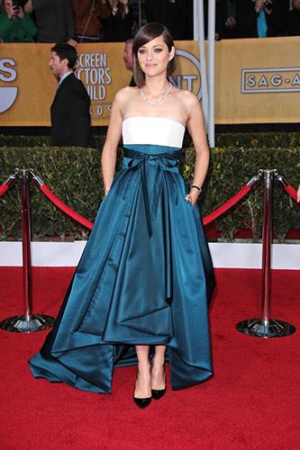 Marion Cotillard at the 2013 SAG Awards