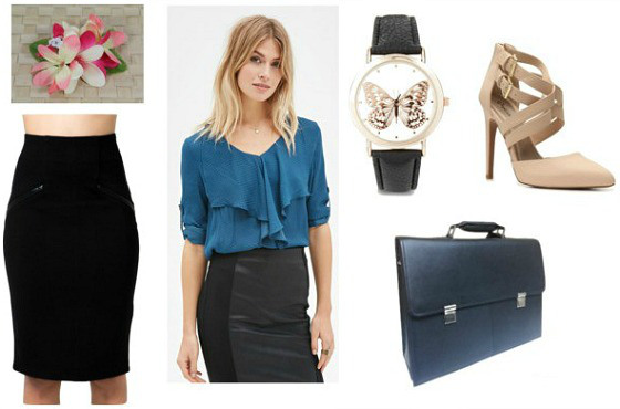 Outfit inspired by hospitality and tourism professionals - marketing and advertising