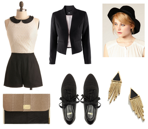Marlene Dietrich Inspired Outfit 1
