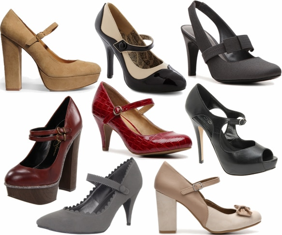 mary jane pumps fall 2012 shoe trend