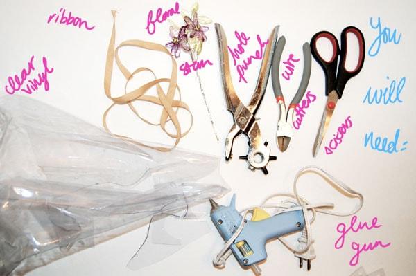 Materials DIY Spring Necklace