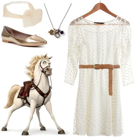 Outfit inspired by Maximus from Disney's Tangled