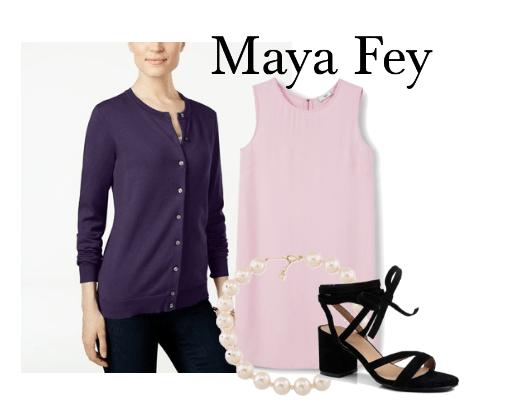 Maya Fey Outfit Set