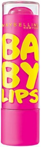 Best drugstore lip balms: Maybelline baby lips pink punch