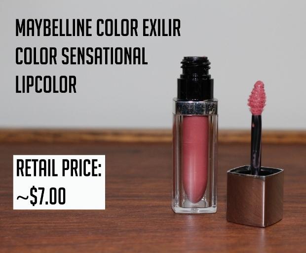 Maybelline color elixir lipcolor