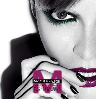 Maybelline New York, official makeup sponsor of Mercedes-Benz Fashion Week