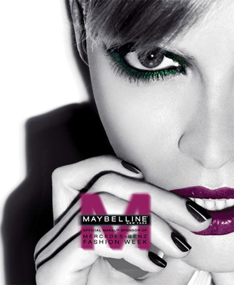 Maybelline New York, official makeup sponsor of Mercedes-Benz Fashion Week