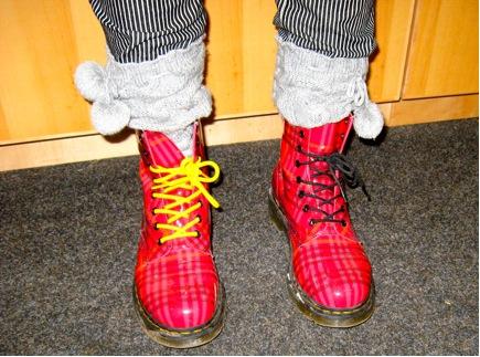 Meghan's Boots - Doc Martens