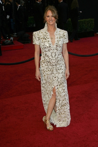 Melissa Leo on the 2011 Oscars red carpet