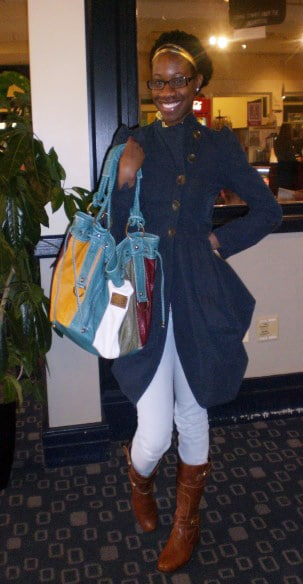 Melissa's college street style at Georgetown University