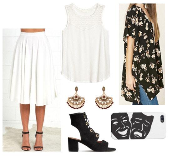 Greek Myth Fashion- Melpomene-inspired outfit
