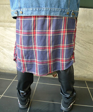 Men's college street fashion
