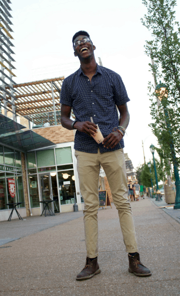 men's college street style