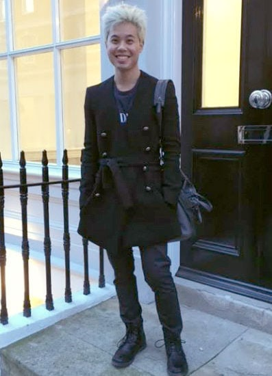 Mens college style at London College of Fashion