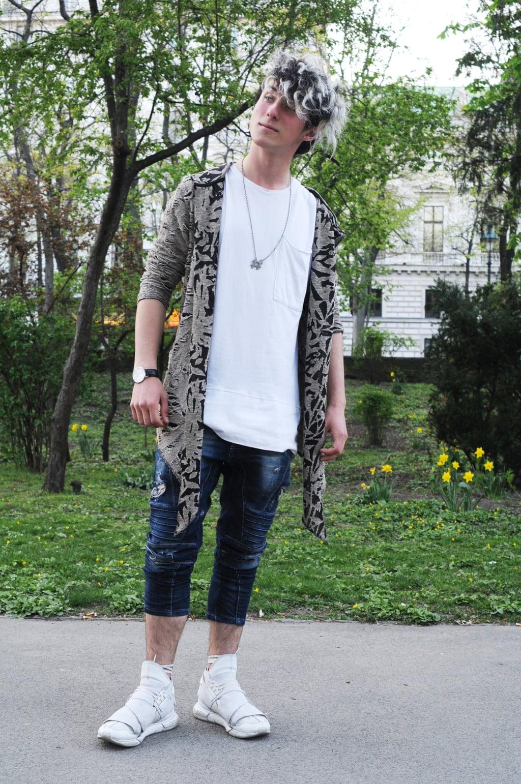Mens college style in Vienna Austria