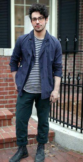 Men's street fashion at risd