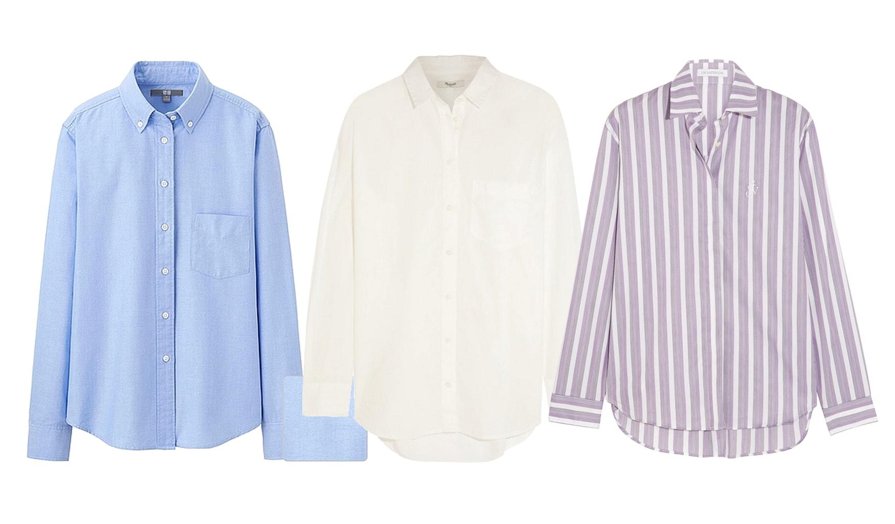 menswear button down oxford shirts