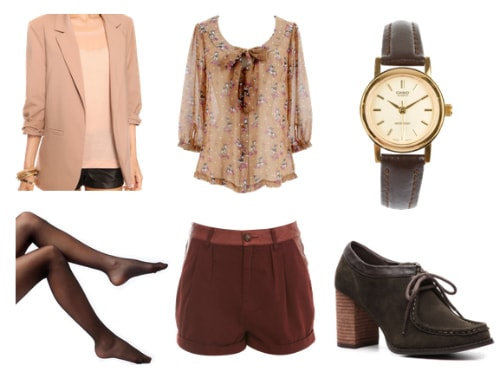 Menswear-inspired outfit 3
