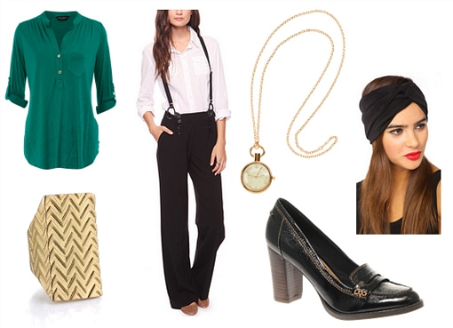 Menswear-inspired outfit 2
