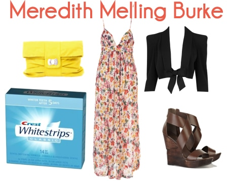 meredith melling burke outfit