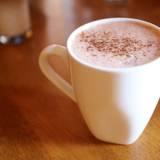 Mexican-style hot chocolate