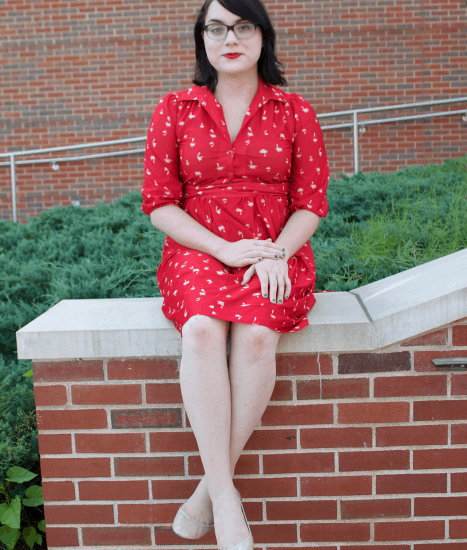retro style at Webster University
