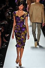 Michael Kors - Winter Florals for fall 2008 fashion