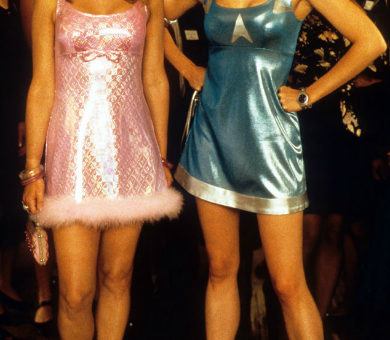 Romy and Michele reunion dresses
