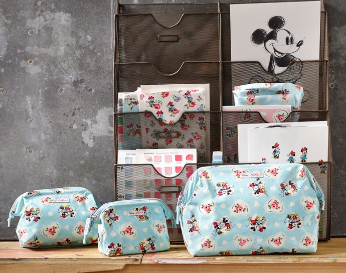 Cath Kidston Mickey Hearts Minnie collection