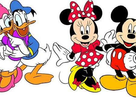 Mickey Minnie Daisy Donald