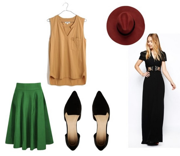 maxi and midi lengths for petite women