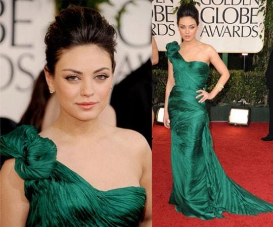 Mila Kunis 2011 Golden Globes