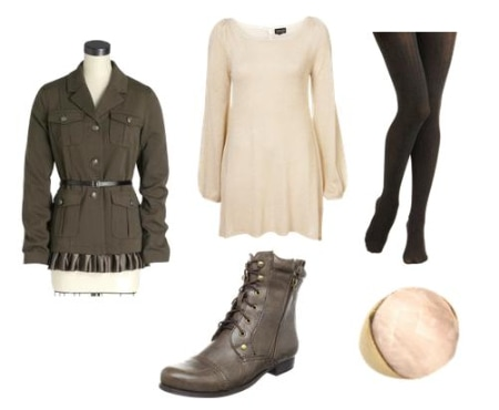 Military Coat Outfit