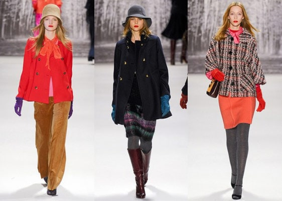 Milly by Michelle Smith Fall 2011 runway