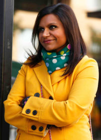 Mindy project yellow coat