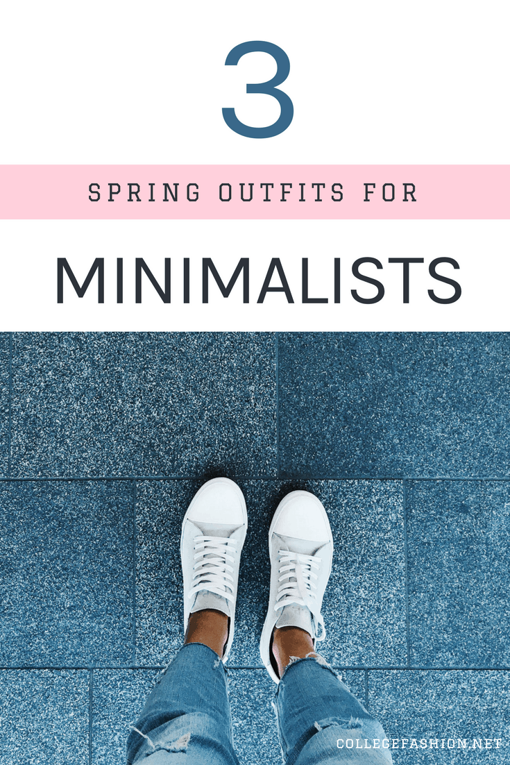 Minimalist spring outfit ideas
