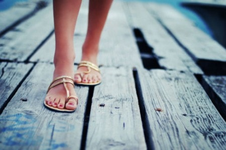 minimal sandals photo