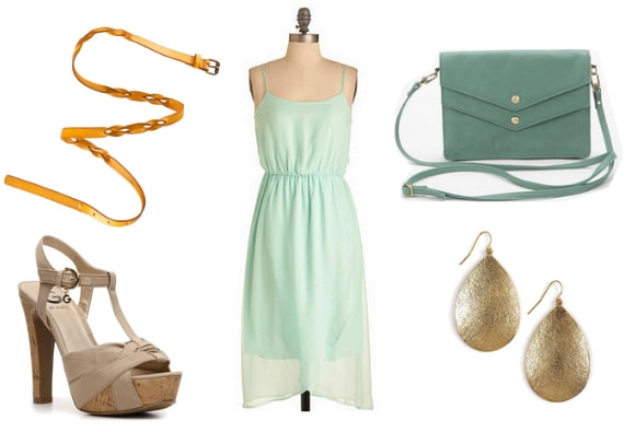mint and mustard outfit 4